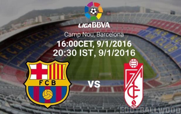 Barcelona vs Granada IST Time