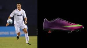 Picture 2.3. Christiano Ronaldo and the Nike Vapor IX.