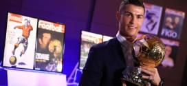 Christiano Ronaldo Ballon D'or 2016 Winner Watch Video