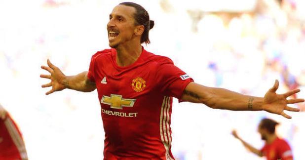 Zlatan Ibrahimovic manchester united photo