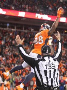 Back judge Steve Freeman (Denver Broncos photo)