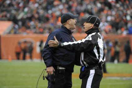 Line judge John Hussey with Texans coach Bill O'Brien [Houston Texans photo]