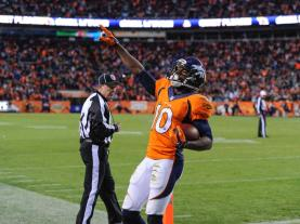Head linesman John McGrath (Denver Broncos photo)