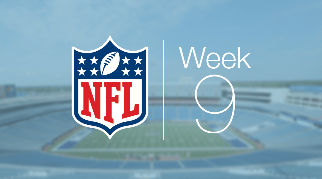 Quick calls: Week 9 liveblog