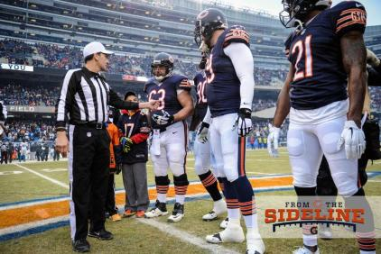 Referee Gene Steratore (Chicago Bears photo)