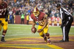 Umpire Undrey Wash (Washington Redskins photo)