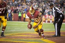 Umpire Undrey Wash (Washington Redskins photo)
