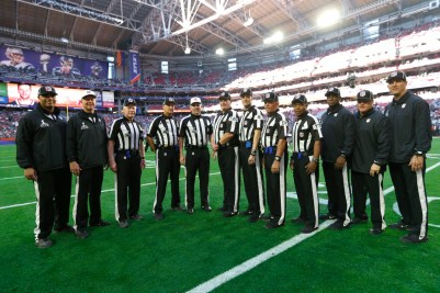 The crew (Ben Liebenberg/NFL)