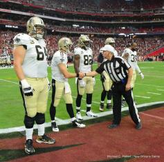 Referee Walt Anderson (Michael C. Hebert, New Orleans Saints)