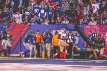 Side judge Jon Lucivansky (New York Giants)