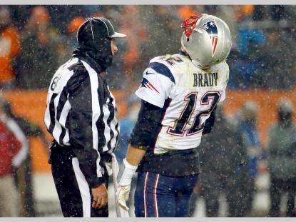 Umpire Dan Ferrell (New England Patriots)