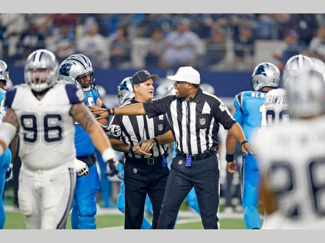 Panthers Cowboys Football