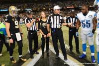 L-R, Rick Patterson, Pete Morelli and Dale Shaw (New Orleans Saints)