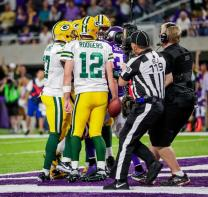 Greg Wilson breaks it up (Green Bay Packers)