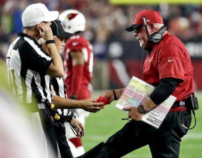 Terry McAulay and Rick Patterson (Arizona Cardinals)