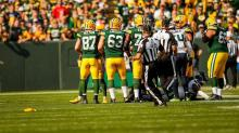 Perry Paganelli and Dave Meslow (Green Bay Packers)