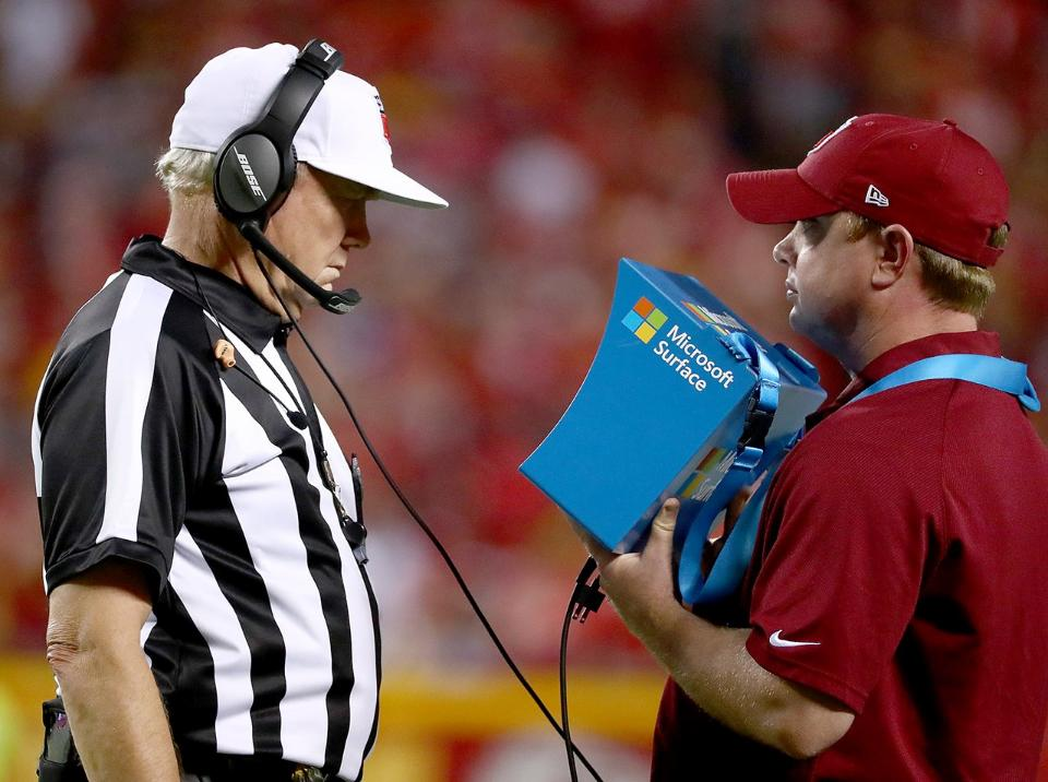 Get instant replay out of making judgement calls