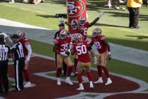Julian Mapp and Steve Zimmer (San Francisco 49ers)