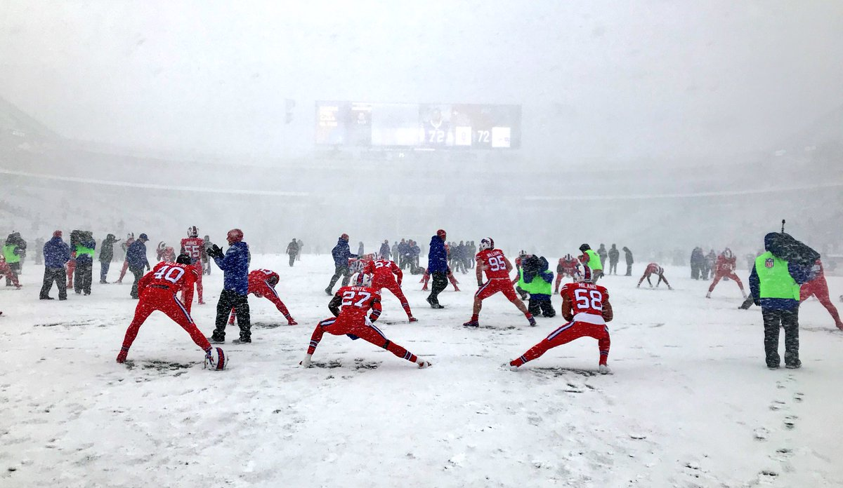 Officiating video: Let it snow, let it snow, let it snow