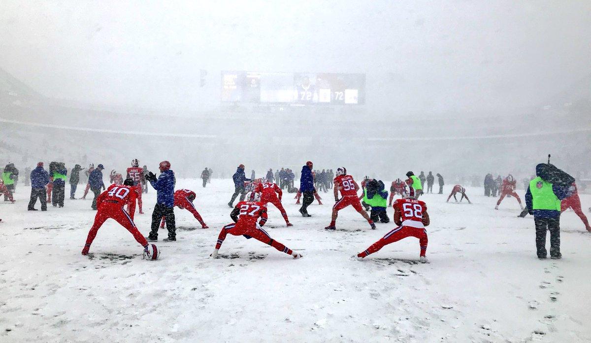 Officiating video: Let it snow, let it snow, let it snow