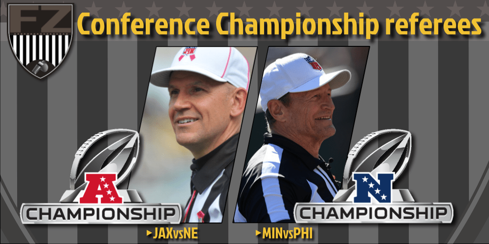 Clete Blakeman and Ed Hochuli will officiate Conference Championships