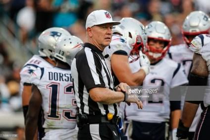 Referee Carl Cheffers (Photo by David Rosenblum/Icon Sportswire via Getty Images)