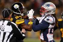 David Oliver breaks it up (New England Patriots)