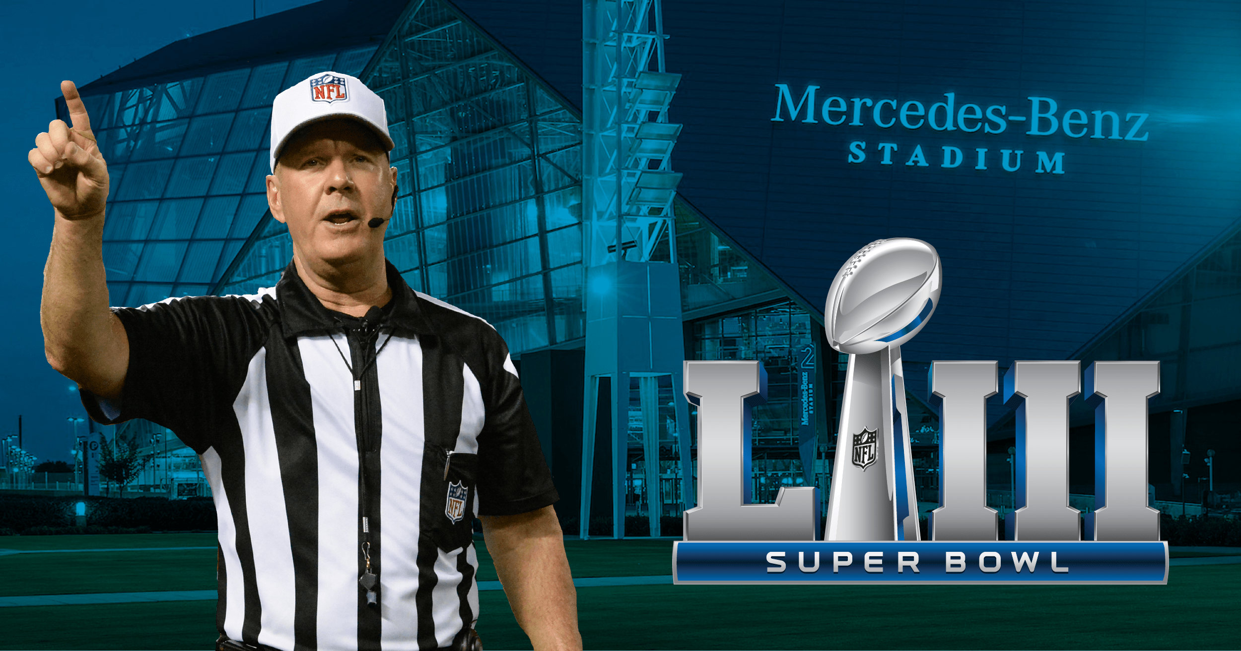 John Parry is the referee for Super Bowl LIII