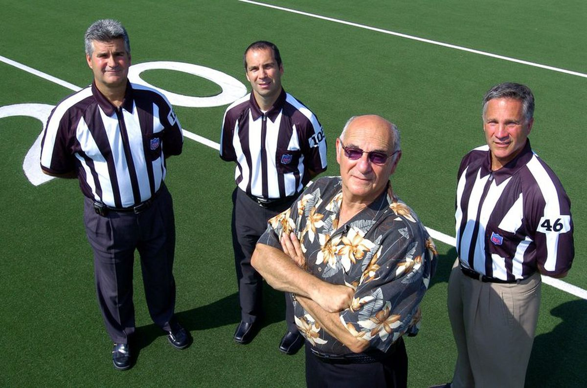NFL officiating patriarch and 'godfather of officials' Carl Paganelli dies