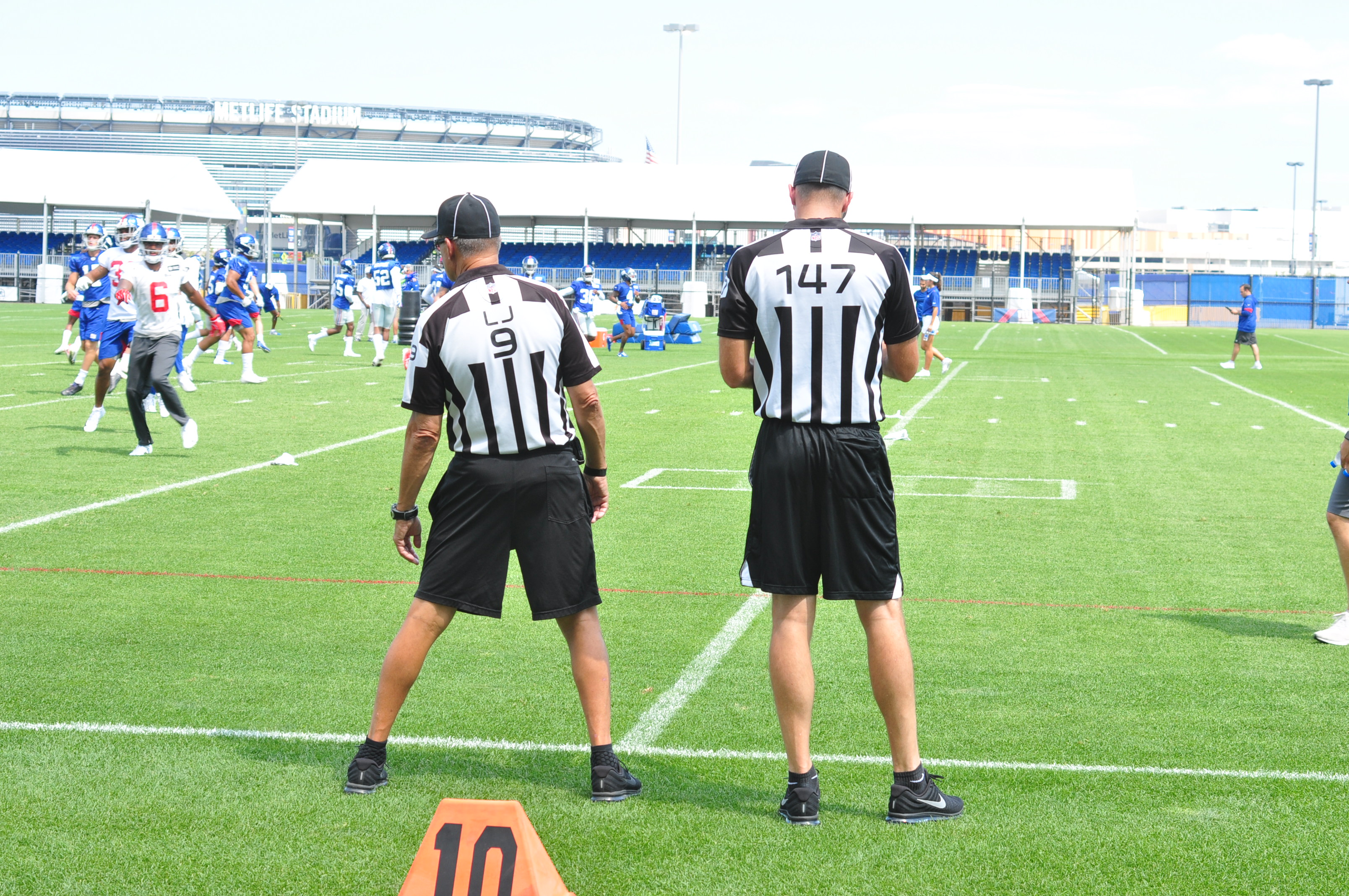 42 officials taking part in this season's Officiating Development Program
