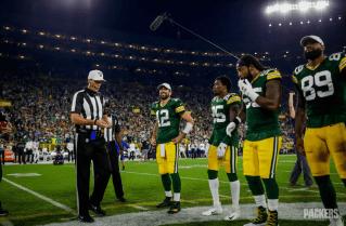 Referee Clay Martin (Green Bay Packers)