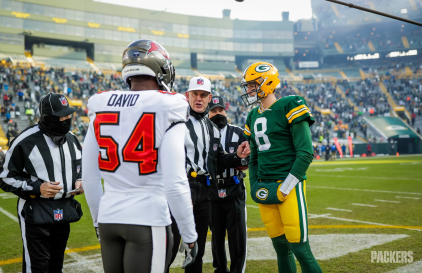 Rick Patterson, Clete Blakeman and Perry Paganelli (Green Bay Packers)