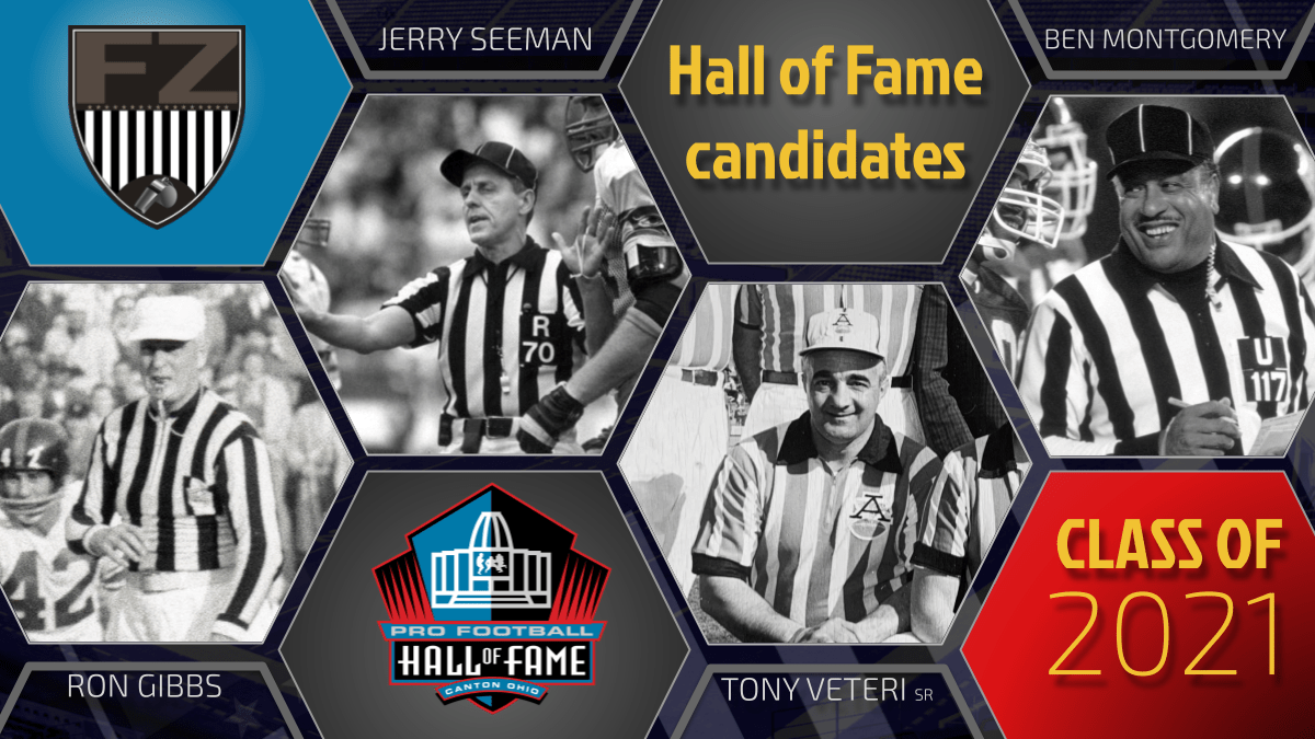 Football Zebras selects its 2021 slate of officials worthy of enshrinement in Hall of Fame