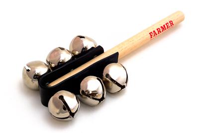 Farmer Sleigh Bell Stick