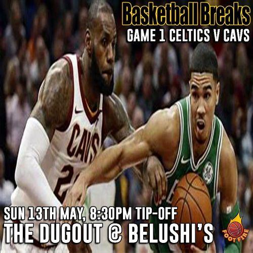 Cavs vs Celtics Game 1 Eastern Conference Finals