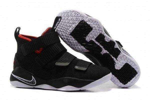 Nike Lebron Zoom Soldier Black Chrome