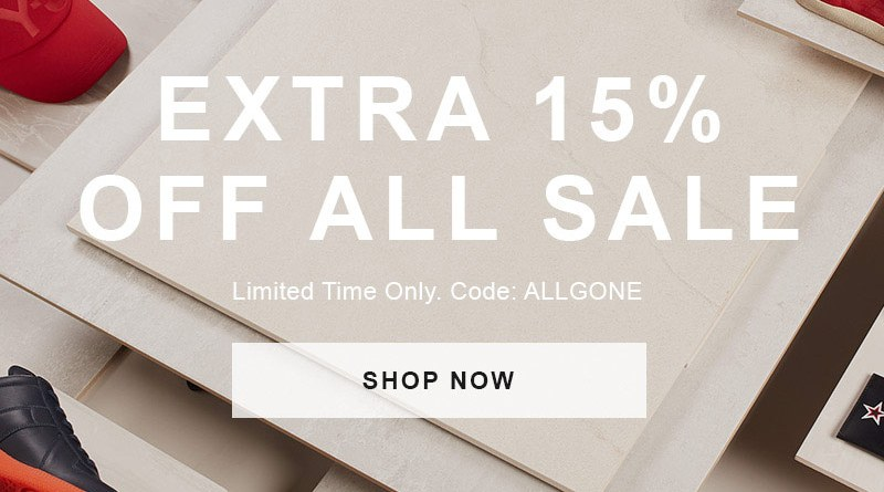 End Clothing15% Sale