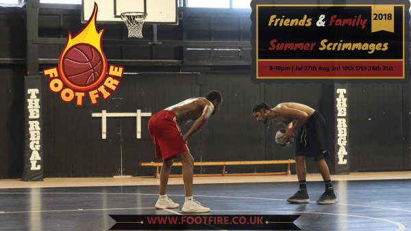 Foot Fire Friends & Family Summer Scrimmages 2018