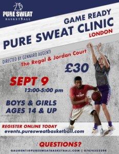 Pure Sweat Skills Clinic Coach G