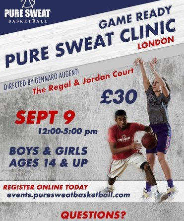 Pure Sweat Skills Clinic Coach G