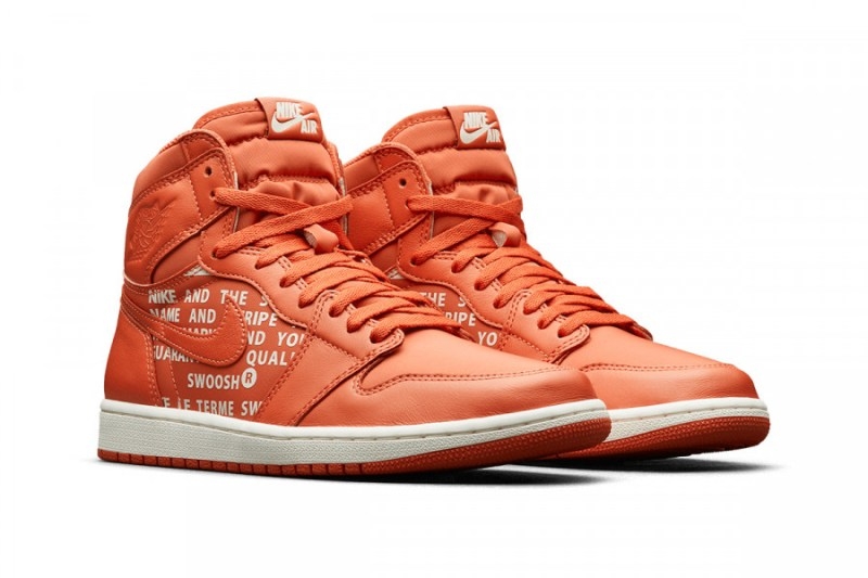 Air Jordan 1 High OG Nike Air Pack Vintage Coral