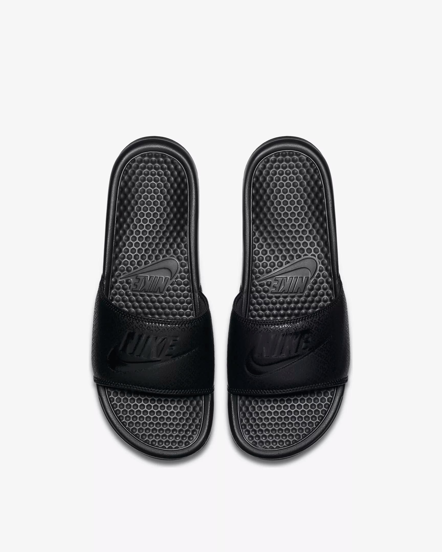 Nike Benassi mens Slides Black