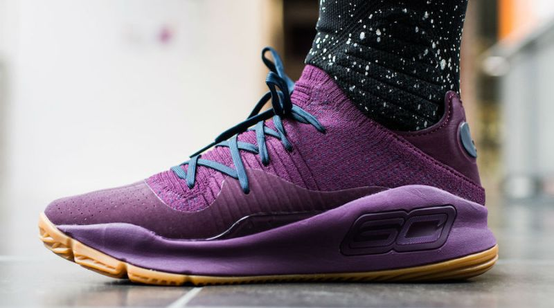 Under-Armour-Curry-4-Low-Merlot-On-Foot