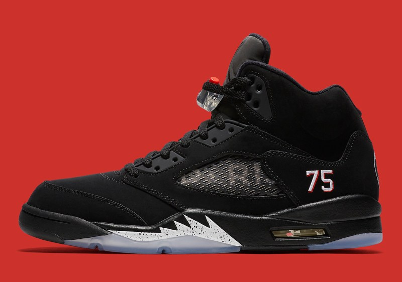 Air Jordan 5 Reto PSG outside profile