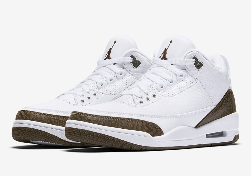 Air Jordan 3 Mocha Retro Profile