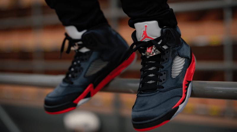 Air Jordan 5 Retro Satin Bred