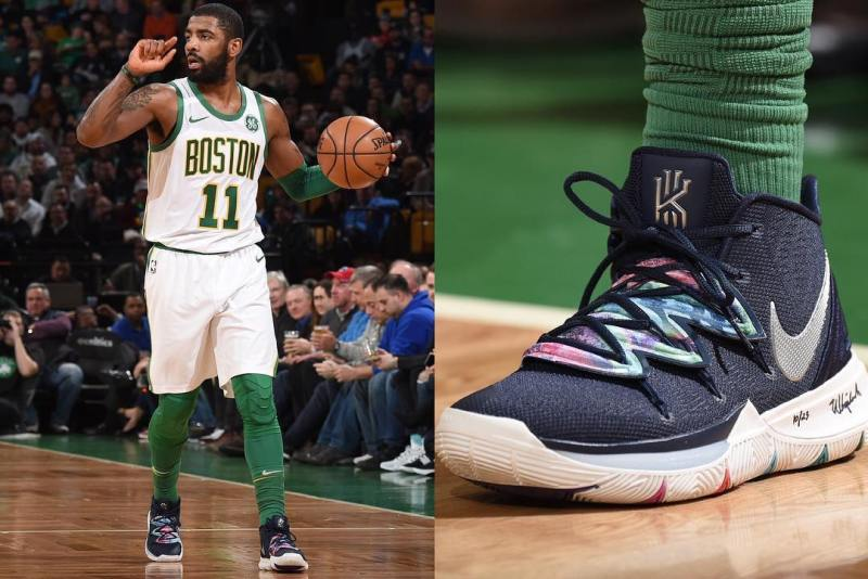 Kyrie 5 Third Eye Vision Multi Feature