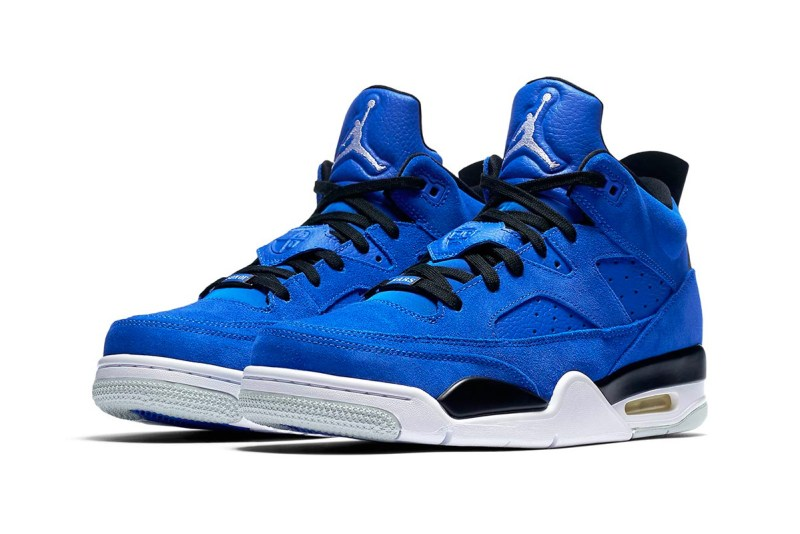 Son Of Mars Low Blue Suede