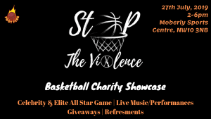 Stop The Violence Basketball Charity Showcase