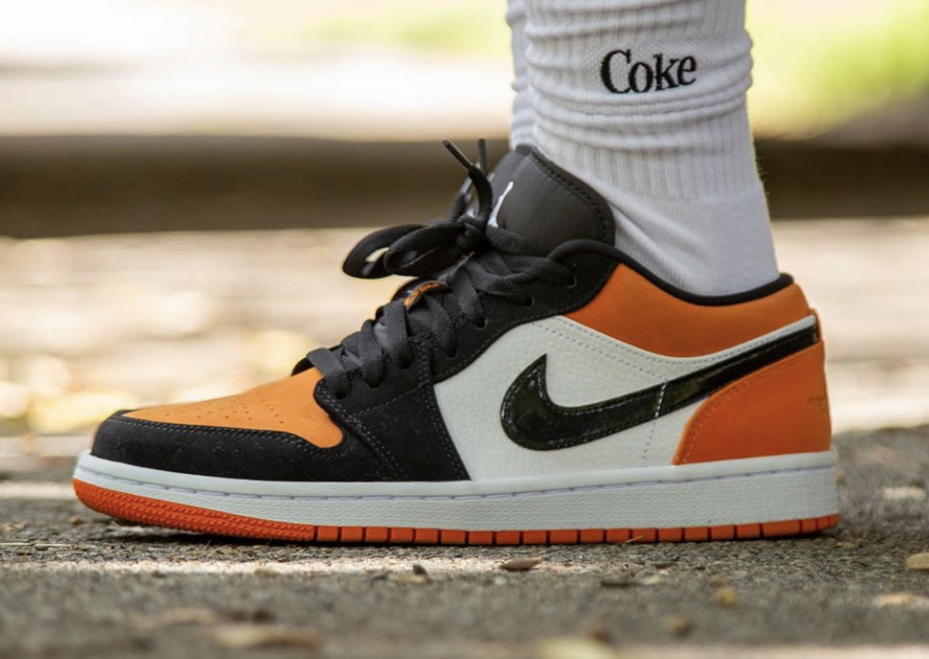 Air Jordan 1 Low Shattered Backboard Out Now Foot Fire